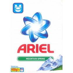 Ariel Mountain Spring Σκόνη Για Πλύσιμο Στο Χέρι 450gr
