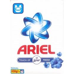 Ariel Touch Of Lenor Fresh Σκόνη Για Πλύσιμο Στο Χέρι 450gr