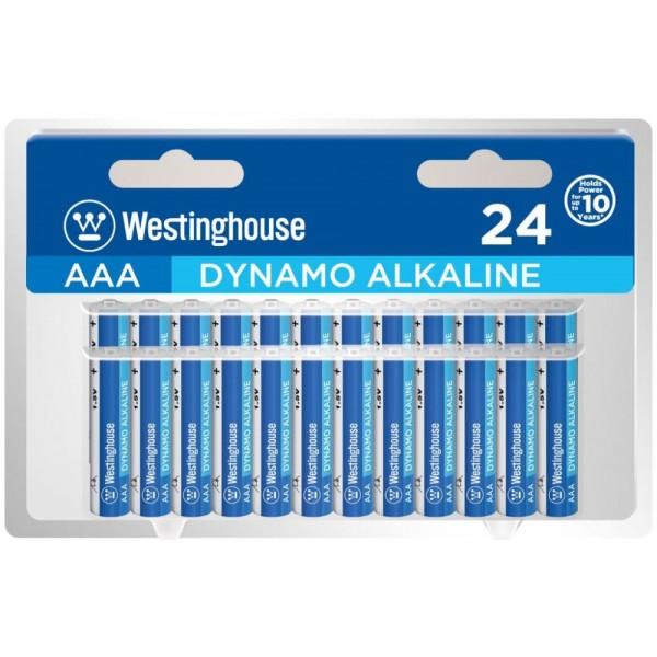 Westinghouse 1.5V AAA Αλκαλικές Μπαταρίες 24τμχ