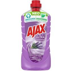 Ajax Ultra Υγρό Πατώματος Λεβάντα 1lt