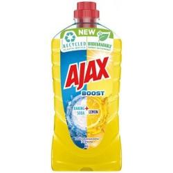 Ajax Boost Υγρό Πατώματος Λεμόνι & Μαγειρική Σόδα 1lt