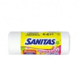 Sanitas Σακούλες Απορριμμάτων Αρωματικές 46x50 30τμχ