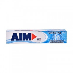 AIM Crystal Gel Fresh & White Οδοντόκρεμα 75ml