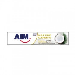 AIM Nature Elements Coco White Οδοντόκρεμα 75ml