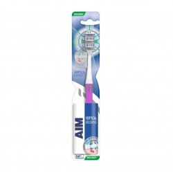 Aim Οδοντόβουρτσα Vertical Expert Μαλακή Σε Χρώμα Λευκό-Μωβ