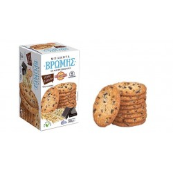 Βιολάντα Μπισκότα Βρώμης με Μαύρη Σοκολάτα Χωρίς Ζάχαρη 200gr