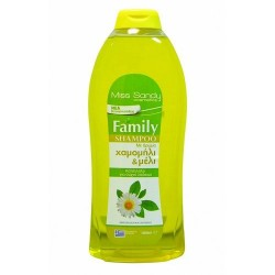 Miss Sandy Family Shampoo Χαμομήλι και Μέλι 1lt