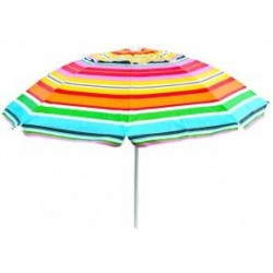 Ομπρέλα Θαλάσσης ''Relax'' Πολύχρωμη 200cm