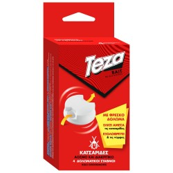 Teza Bait Gel Δόλωμα Για Κατσαρίδες 4 τεμάχια.