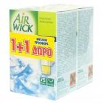 AirWick Φρεσκάδα Βουνού Ηλεκτρική Συσκευή & Ανταλλακτικό 1+1 ΔΩΡΟ
