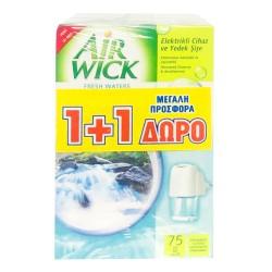 AirWick Φρεσκάδα Νερού Ηλεκτρική Συσκευή & Ανταλλακτικό 1+1 ΔΩΡΟ