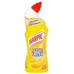 Harpic Active Fresh Παχύρρευστο Υγρό Κίτρο 750ml