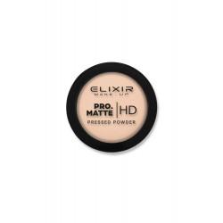 Elixir PRO. MATTE Pressed Powder HD – Latte Coffee #204