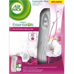 AirWick Freshmatic Συσκευή & Ανταλλακτικό Smooth Satin & Moon Lilly 250ml