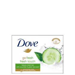Dove Κρεμοσάπουνο Ομορφιάς Fresh Touch Beauty 4x100gr