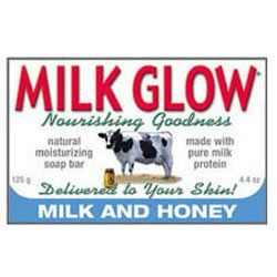 Milk Glow σαπούνι Milk and Honey (125gr)