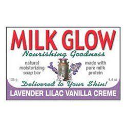 Milk Glow σαπούνι Lavender Lilac Vanilla Creme (125gr)